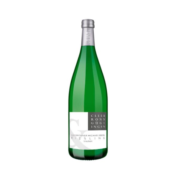 riesling in green bottle
