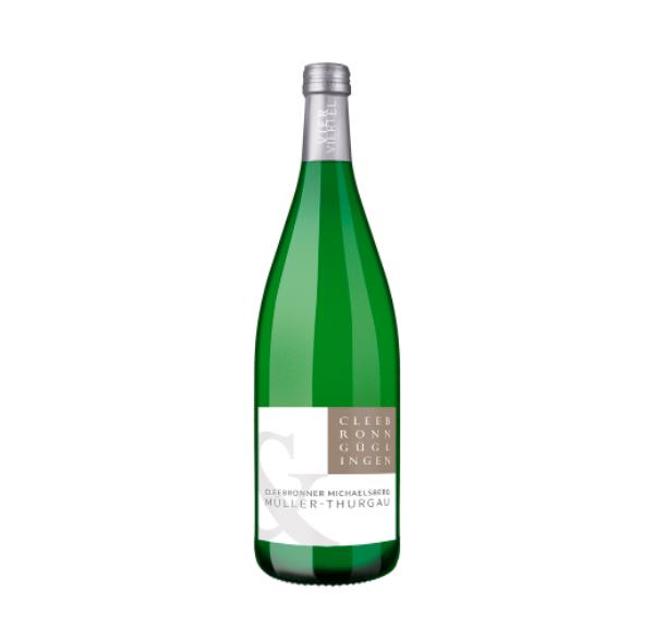 muller Thurgau green bottle