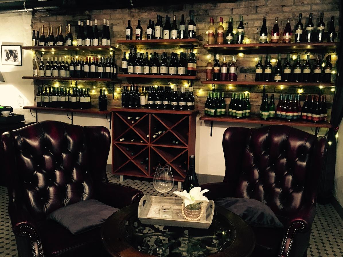 Kabinett wine shop Kuldiga